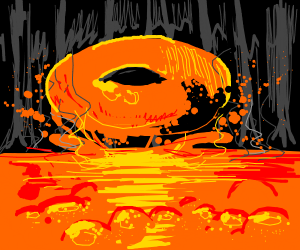 Lava Donut