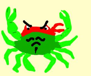 Muscular Crab ninja