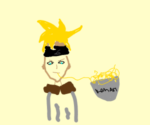 naruto sipping sum noodles