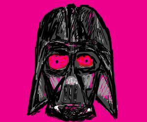 Darth Vader with Pink Eye