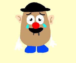 sad mr potato