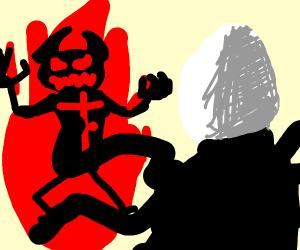 ZALGO and Slender fight