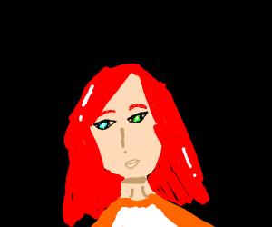 girl with heterochromia
