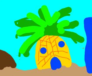 pineapple under the sea