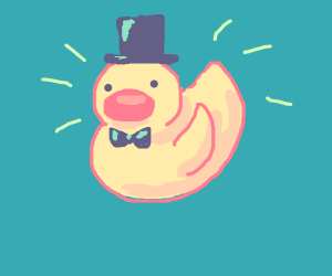 Snazzy duck