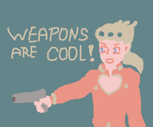Weapons are wow! cool!