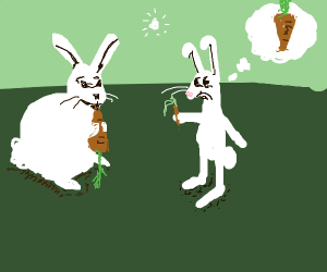 Envious Rabbit