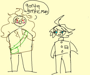 Kiibo and gonta are best bois
