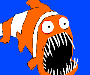 Nemo is hungry
