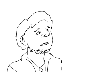 Ok, I want you to draw a man with no color.