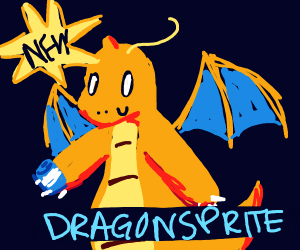 Dragonite sponsored by Sprite