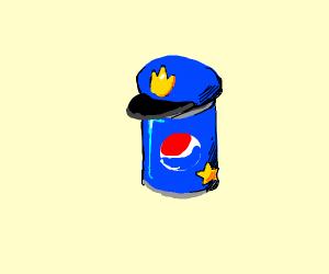Pepsi cop