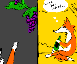 wine not grapes?