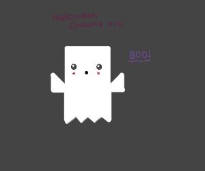 Halloween costume P.I.O