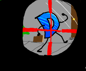 Drawception in the crosshair