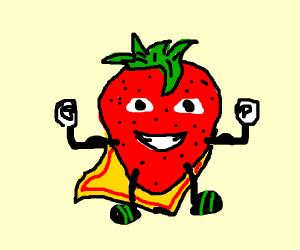 Super strawberry (has cape)