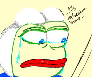 Finn the Human x Upset Pepe