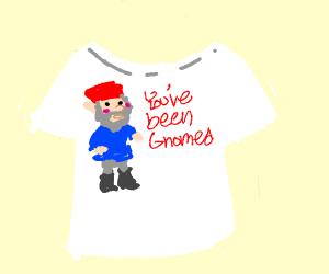 A gnome shirt