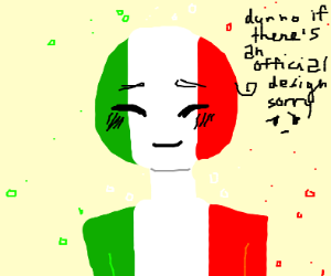 One of the Country people (probably Italy)