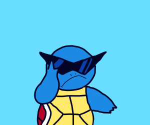Cranky Squirtle Squad leader tips shades