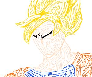 Goku going Super Saiyan