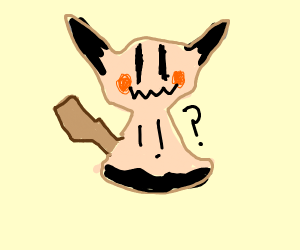 mimikyu confused you dont to dubstep