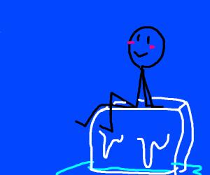 Stickman + Icecube