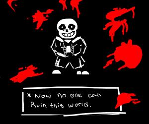 Sans kills the gamer