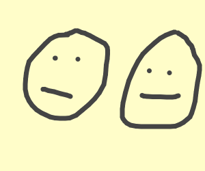 Faces we used to draw in elementary school