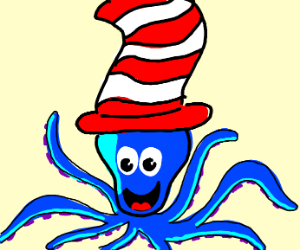 Octopus in the Hat
