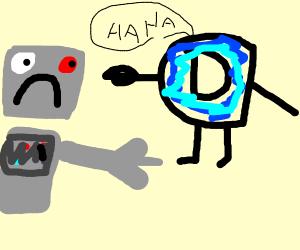 Robot loses at drawception! :(
