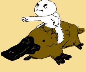 odd1sout on a platypus