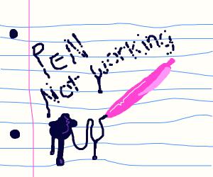 pen not working