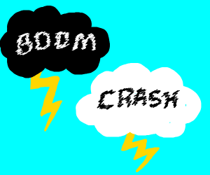 BOOM! CRASH! the sound of my thunder