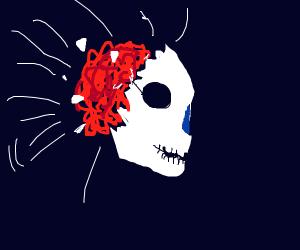Skeleton brain explodes