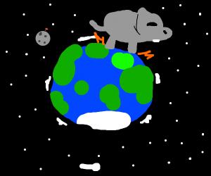 hippo on earth