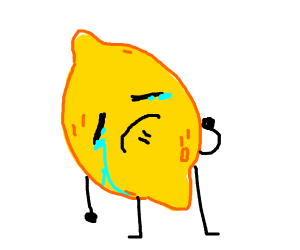 Oh no, it's sad lemon hours