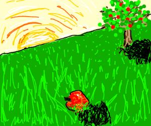 Apple falls semi far from tree