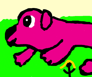 Clifford the big PINK dog