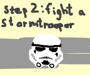 Step 1: Become a space marine