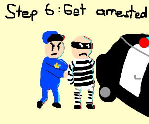 Step 5: Rob a bank