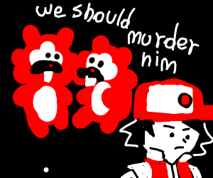 bidoofs discuss murdering red