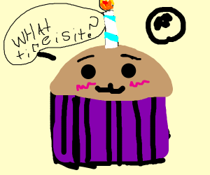 Muffin Wants To Die Its Muffin Time Drawing By