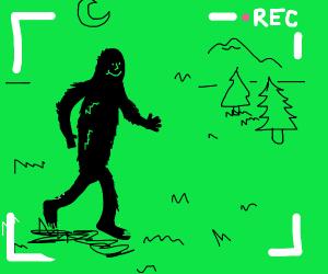 Happy bigfoot