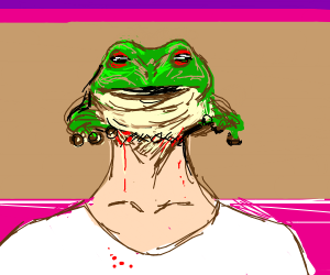 Your Head Has Been Replaced With A Frog