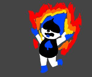 Burning Lancer (Deltarune)