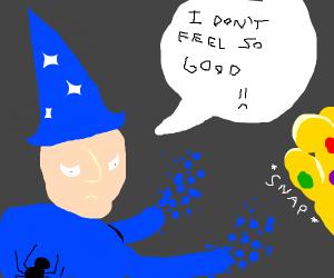 Magician doesn't feel so good