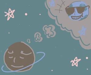 PlanetFantasizesAboutBeingADifferentPlanet
