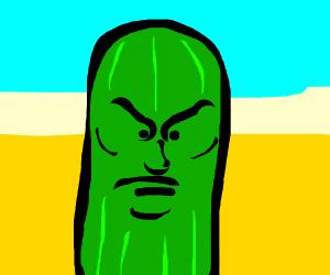 angry zucchini