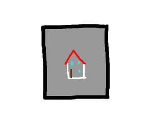 modern art: house
